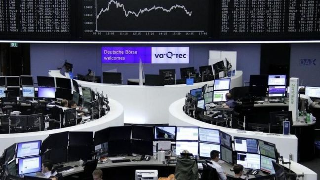 Global stocks, gold and bond prices slip on talk of ECB taper
