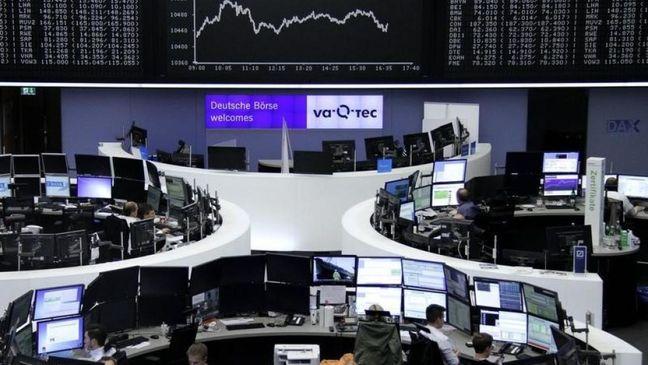 Global stocks, gold and bond prices slip on talk of ECB taper