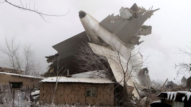 Turkish 747 Cargo Jet Crashes in Kyrgyzstan, Killing Dozens