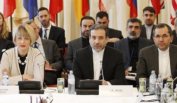 Araghchi, Schmid meet in Vienna before joint commission meeting