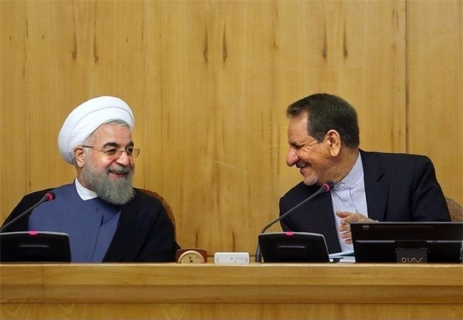 Rouhani, Jahangiri talk about plans to address terrorism, tourism