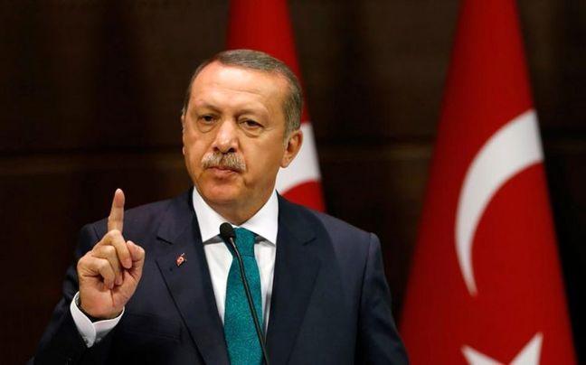 Turkey's Erdogan backs Qatar, says calls to shut base 'disrespectful'