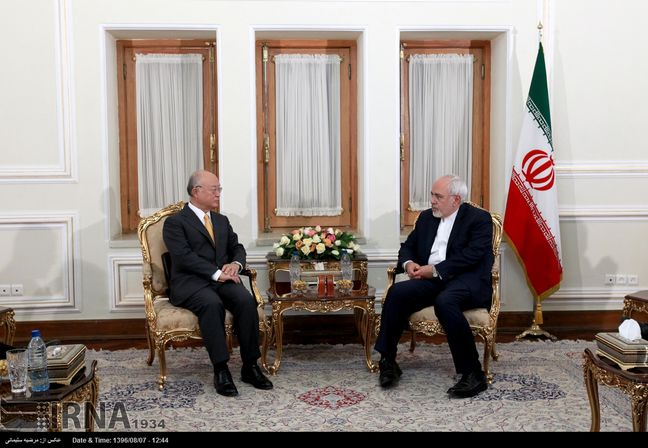 Iran FM, IAEA Chief urge all parties commitment to 2015 nuclear deal