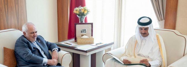 Zarif in Doha for Talks