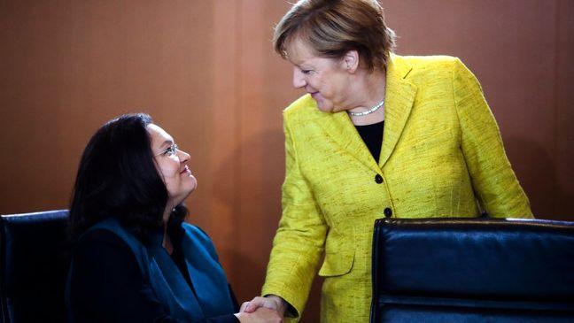 Merkel May Have Met Her Match in Germany's New SPD Leader