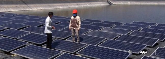 First Floating PV Power Plant Operational in W. Azarbaijan