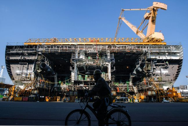 The World's Biggest Floating Natural Gas Terminal Can't Get Steady Work