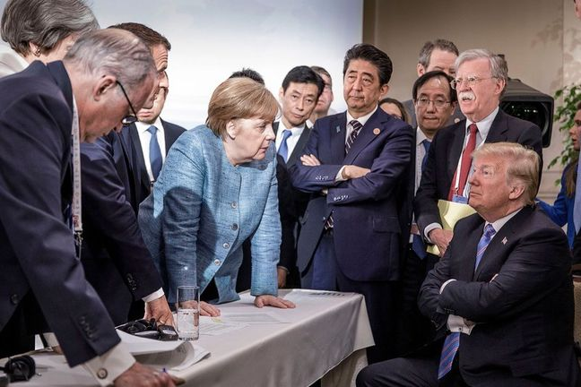 Trump torpedoes G7 effort to ease trade spat, threatens auto tariffs