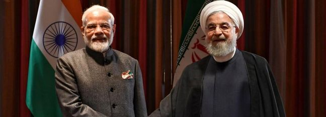 India's PM, Iran President Discuss Chabahar Project