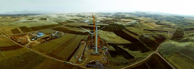 S. Khorasan Wind Farm Project Gains Impetus