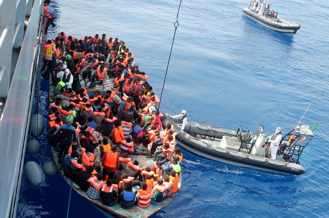 Some 4,650 migrants saved, 28 die trying to reach Italy: coast guard