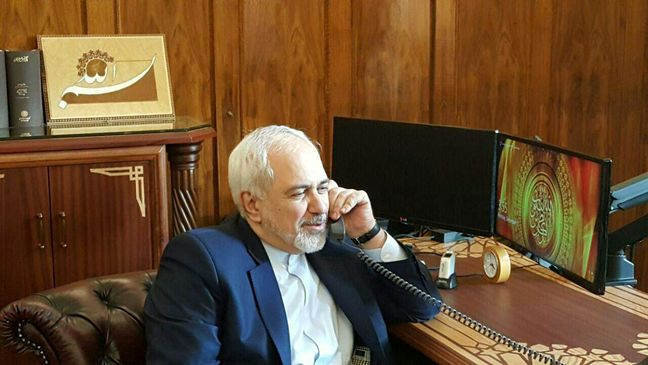 Zarif confers with German, Spanish counterparts