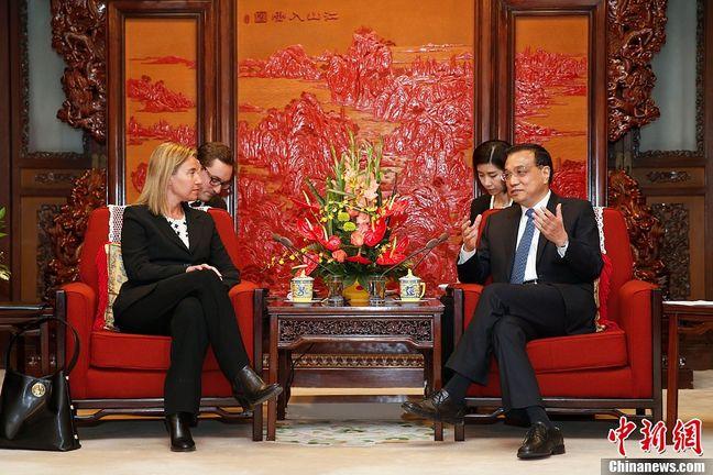 China's Li says EU and China must promote free and fair trade