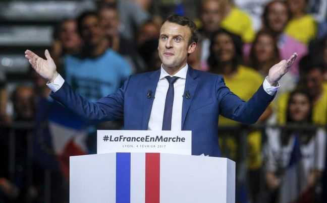 France's Macron seen on top in first round presidential vote: poll