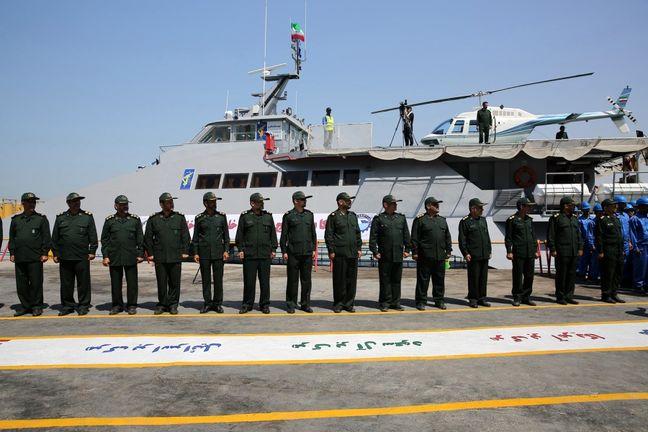 Iran unveils new high-speed vessel