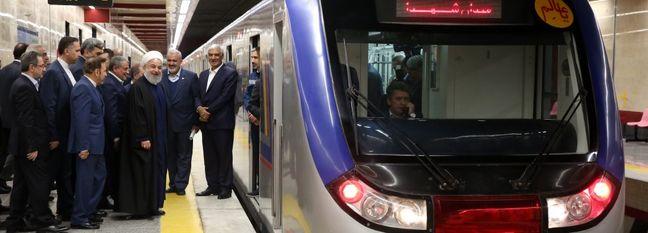Tehran Metro Line 6 Opens