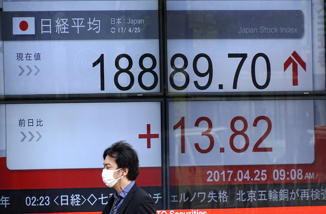 Asia Stocks Mixed as Weaker Yen Lifts Japan Shares
