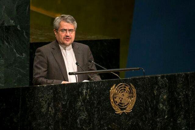 Introducing new sheriff to UN lead to continued cycle of violence: Khoshroo