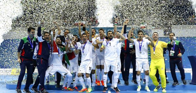 Iran Easily Secures 12th AFC Futsal Championship Title