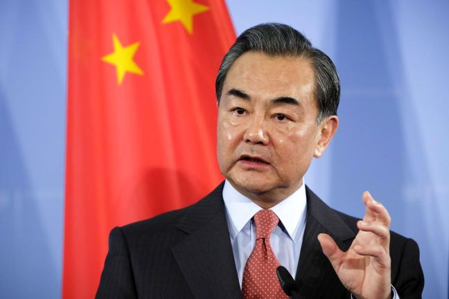 China foreign minister says wants to manage disputes with U.S.