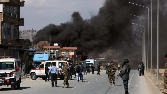 Dozens killed, wounded in attack on Afghanistan police headquarters