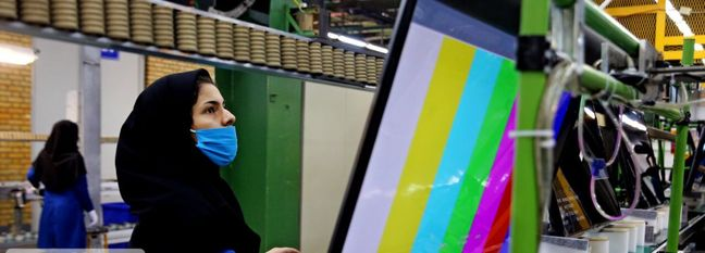 Production of TV Sets Up 30%