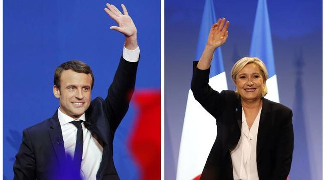 Macron and Le Pen to square off in French pre-election TV debate