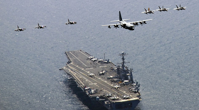 North Korea warns of 'merciless' strikes as U.S. carrier joins South Korea drills