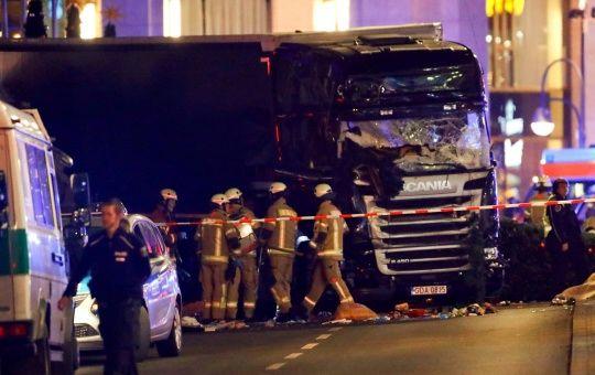 Nine Dead After Truck Rams Into Christmas Market in Berlin
