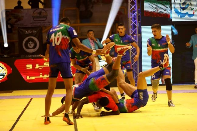 Iran crowned as champion at 1st Junior World Kabaddi Champs