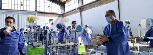 Southwest Asia's Biggest Facemask Factory Opens in Alborz