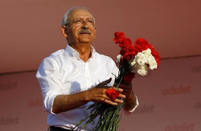 Turkey's Kilicdaroglu Says Main Opposition Will Bring Justice