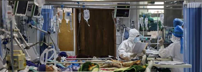 Iran's Daily Covid-19 Deaths Drop to Eight-Day Low