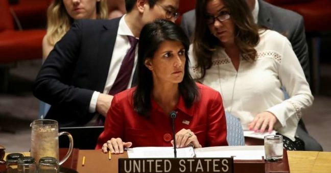 Haley Compares Iran to North Korea in Criticizing Nuclear Accord