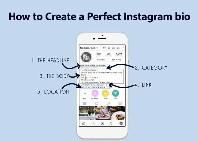 How to Create a Perfect Instagram bio