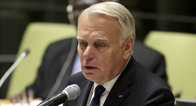 France says U.S. position on Middle East peace 'confused and worrying'