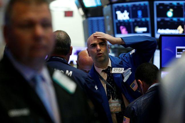Wall Street drops on labor market data, North Korea concern