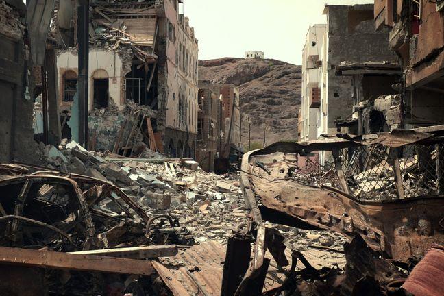 Saudi coalition air strike kills 45 in Yemen: relatives, sources