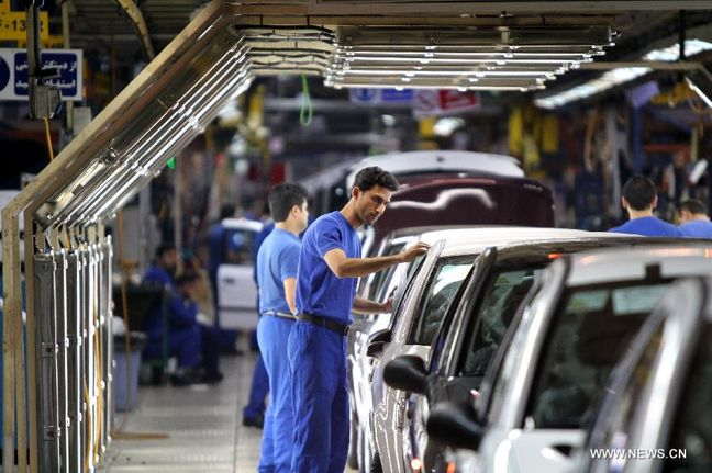 40.9% Jump in Iran Car Production y/y