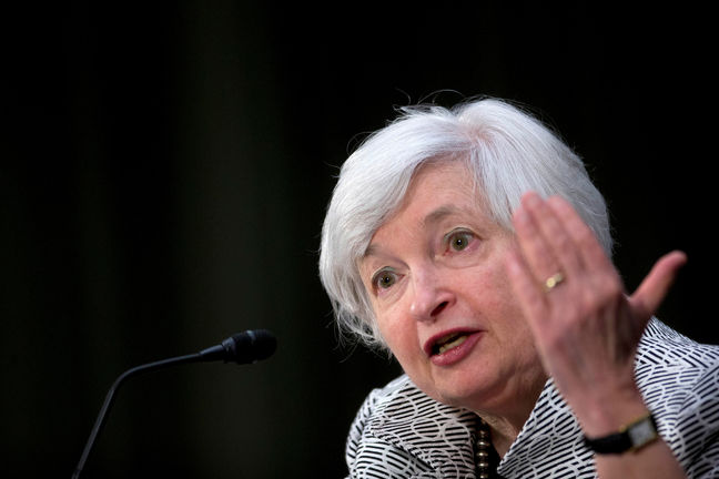 Yellen Distances Herself From Trump in Jackson Hole Speech