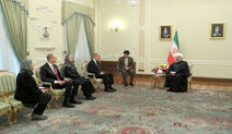 Rouhani: Iran interested in boosting trade ties with Sweden