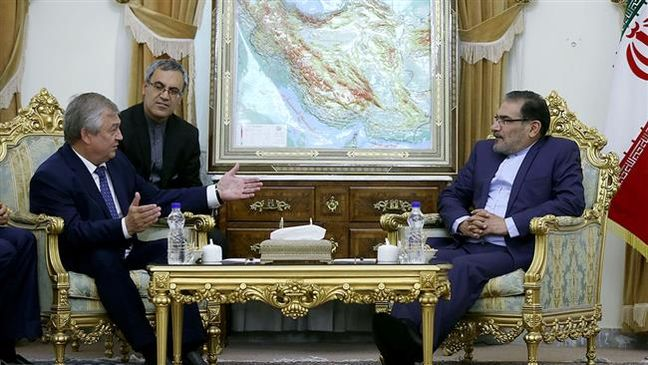 Benefits of Iran-Russia-Syria-resistance front cooperation showing: Shamkhani