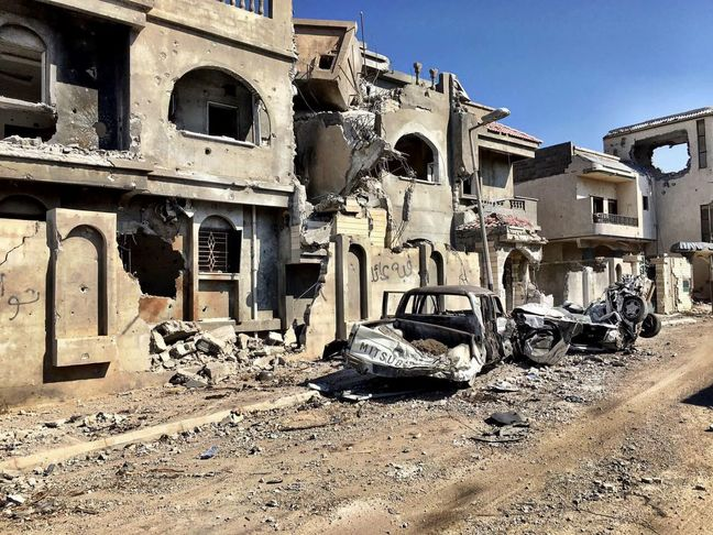 One War Nears an End in Libya. Battle Scars May Prevent Another