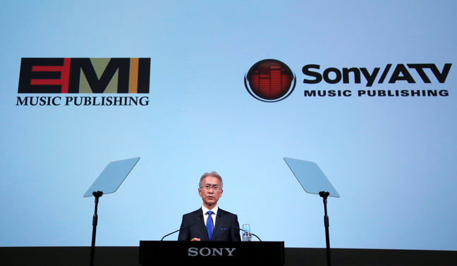 Sony to become world's No.1 music publisher with $2.3 billion EMI deal