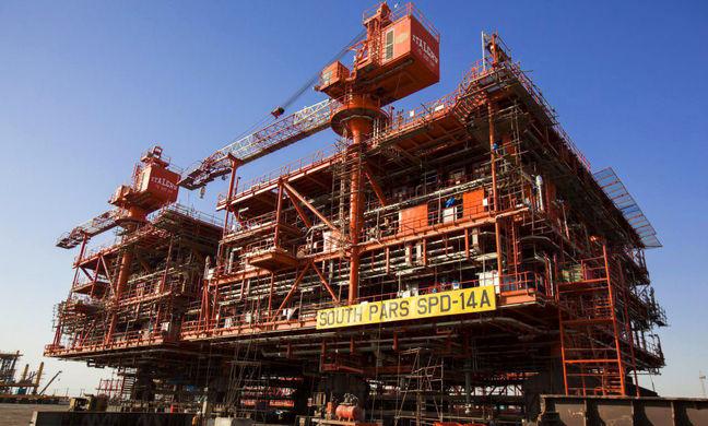South Pars Phase 14 Platform Sets record