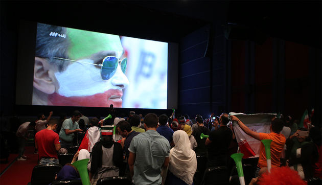 Iranian Cinemas Profiting From Screening World Cup Games