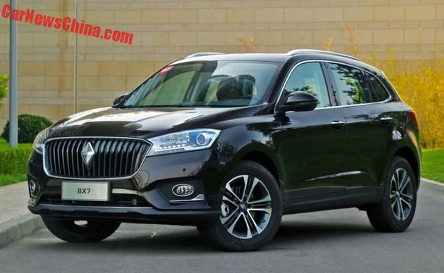 German-Chinese Borgward Studying Iranian Market