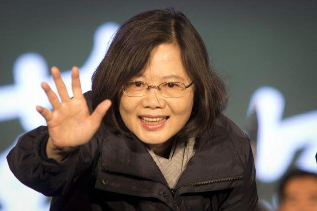 Taiwanese Leader Tsai Says Beijing Reverting to Coercive Tactics