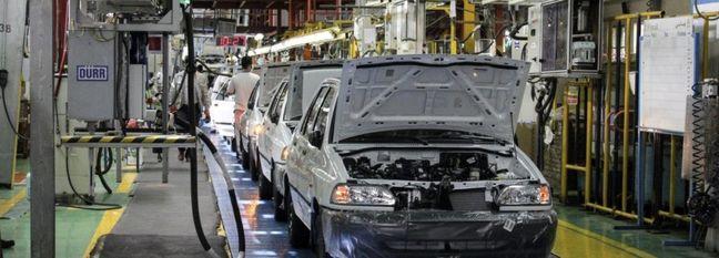 Iran Auto Output Down 25%