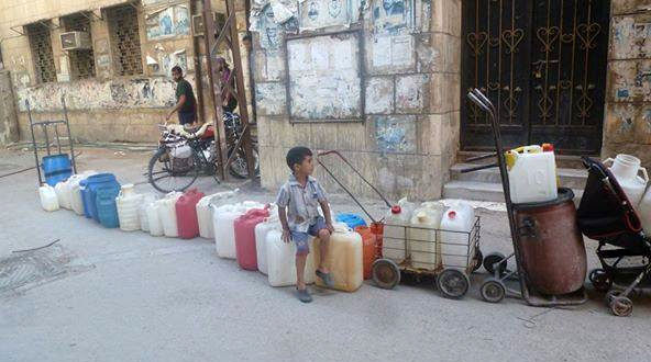 Four million in Damascus without mains water after springs targeted: U.N.